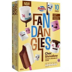 Peters Fandangles Ice Cream Choc Shmallow
