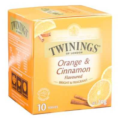 Twinings Orange & Cinnamon Tea