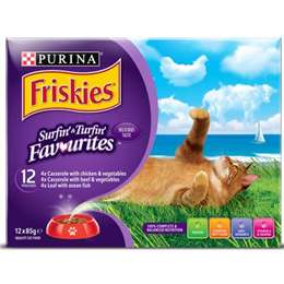 Friskies Surfin' & Turfin' Favourites