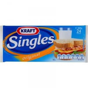 Kraft Cheese Slices Singles Original