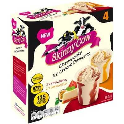 Skinny Cow Ice Cream Cheesecake