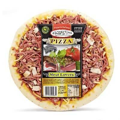 D'agostino Pizza Meat Lovers