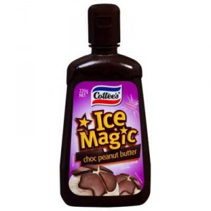 Cottees Chocolate Peanut Ice Magic