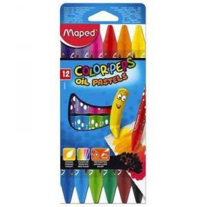 Maped Colour Peps Crayon Oil Pastels