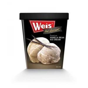 Weis For Dessert Ice Cream Vanilla Bean