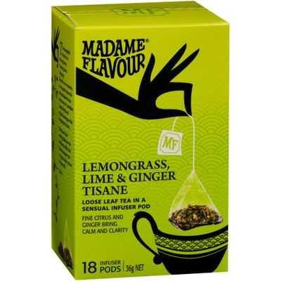 Madame Flavour Lemon Grasslime & Ginger Tea Pods