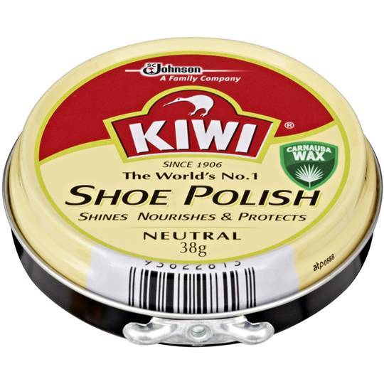 Kiwi Shoe Care Polish Neutral