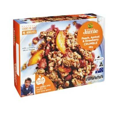 Created With Jamie Crumble Peach, Apricot & Strawberry
