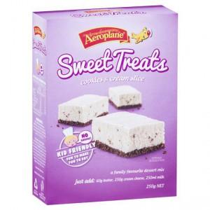Aeroplane Jelly Slice Sweet Cookies And Cream