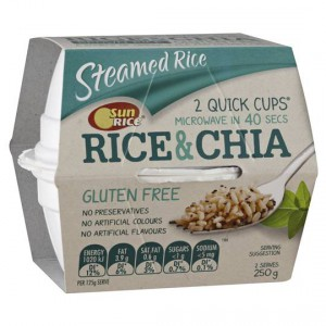 Sunrice Brown Rice And Chia Cup