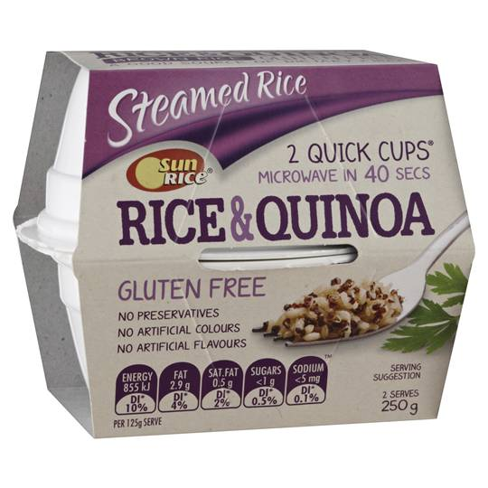 Sunrice Heat & Serve Rice & Quinoa