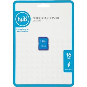 Hub It Storage Card Class 10