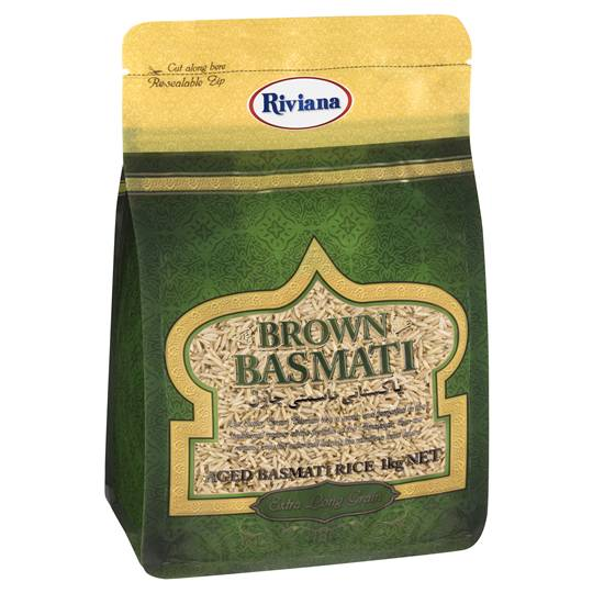 Riviana Brown Basmati Rice Extra Long Grain