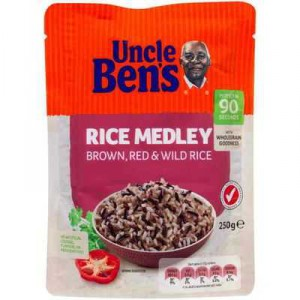 Uncle Bens Microwave Rice Medley