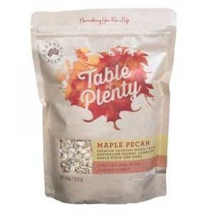 Table Of Plenty Maple Pecan Muesli