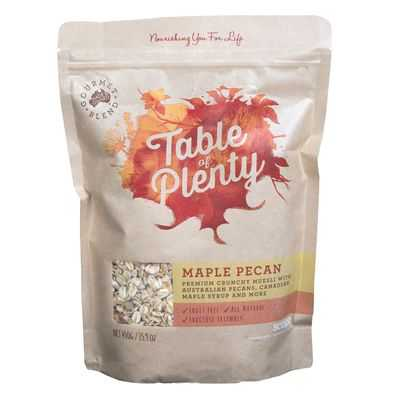 Table Of Plenty Maple Pecan Muesli