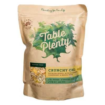 Table Of Plenty Crunchy Chia Gluten Free Muesli