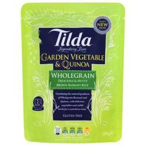 Tilda Heat & Serve Garden Vege & Quinoa