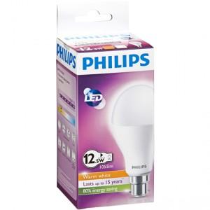 Philips Led Globe Warm White 1055 Lumen Bc Base