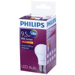 Philips Led Globe Warm White 806 Lumen Es Base