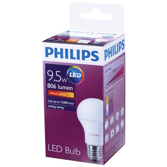 Philips Led Globe Warm White 806 Lumen Es Base