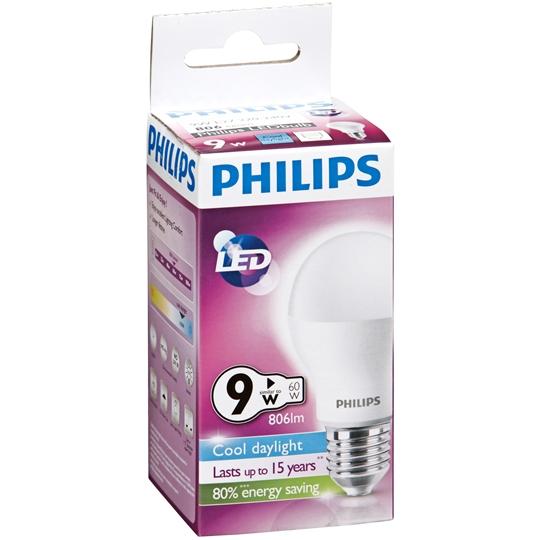 Philips Led Globe Cool Daylight 806 Lumen Es Base