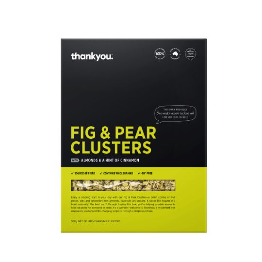Thankyou Fig & Pear Clusters
