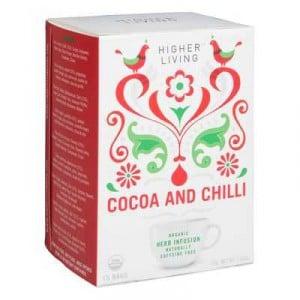 Higher Living Cocoa Chilli Tea
