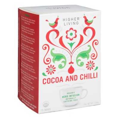Higher Living Cocoa Chilli Tea