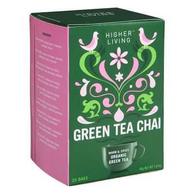 Higher Living Chai Green Tea