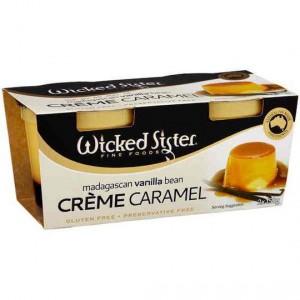 Wicked Sister Vanilla Bean Creme Caramel