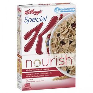 Kellogg's Special K Wildberry & Raisin Nourish