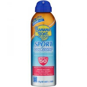Banana Boat Spf 50+ Sunscreen Cool Zone Sport Spray