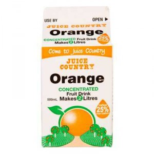Juice Country Orange Concentrate