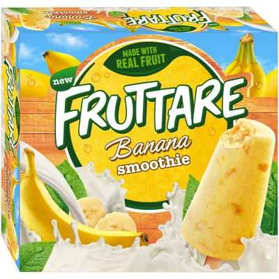 Streets Fruttare Fruit Smoothie Banana