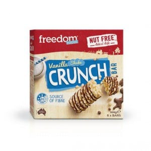 Freedom Foods Bar Vanilla Crunch