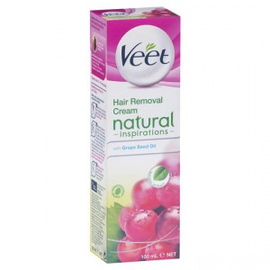 Veet Natural Aftershave Grape Seed Oil Cream