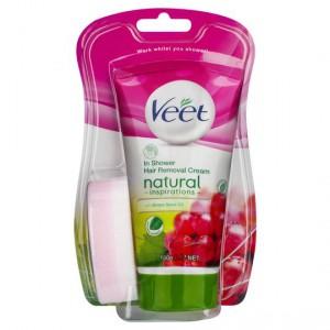 Veet Shower Wash Naturals Grape Seed Oil