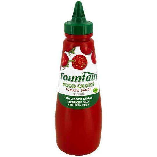 Fountain Sauce Good Choice Tomato