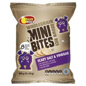 Sunrice Rice Snacks Salt & Vinegar Mini Bites