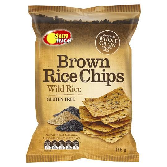 Sunrice Chips Wild Rice
