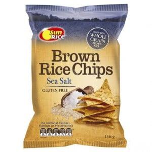 Sunrice Rice Snacks Sea Salt