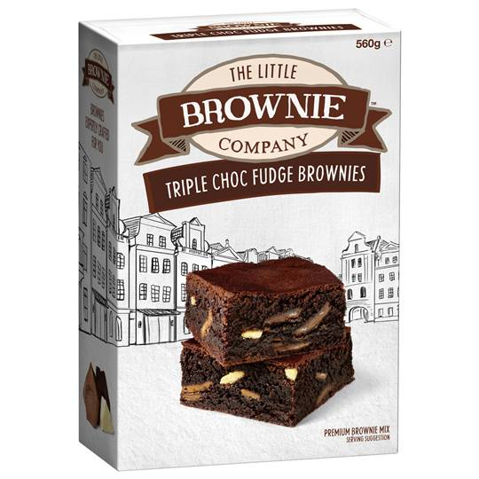 Little Brownie Co Brownie Mix Triple Chocolate