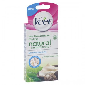Veet Hair Removal Wax Shea Butter Cold Strips