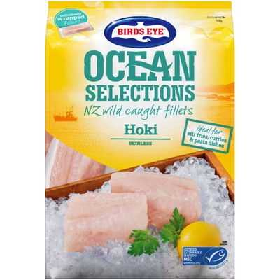 Birds Eye Ocean Selections Fish Hoki