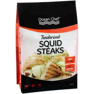 Ocean Chef Squid Steaks