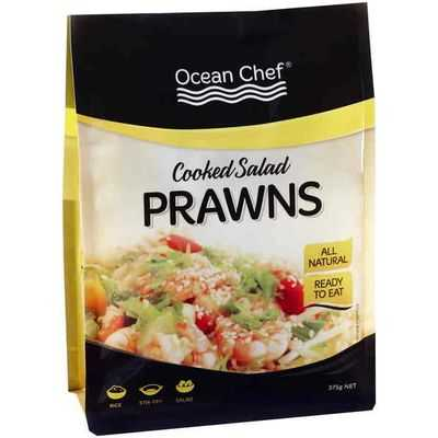 Ocean Chef Prawns Cooked & Peeled