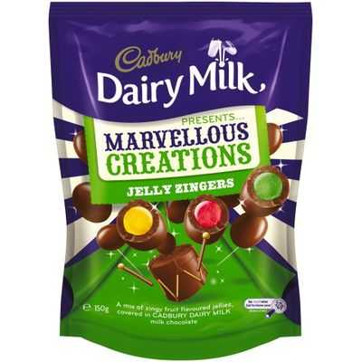 Cadbury Dairy Milk Marvellous Creations Jelly Zingers
