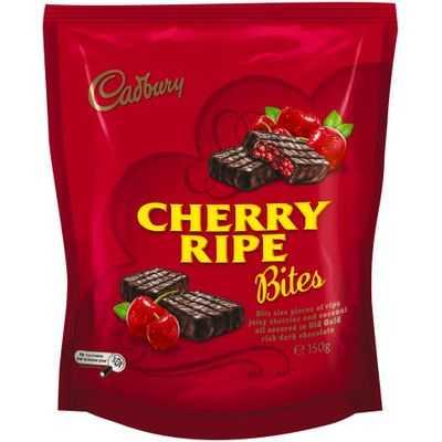 Cadbury Cherry Ripe Bites