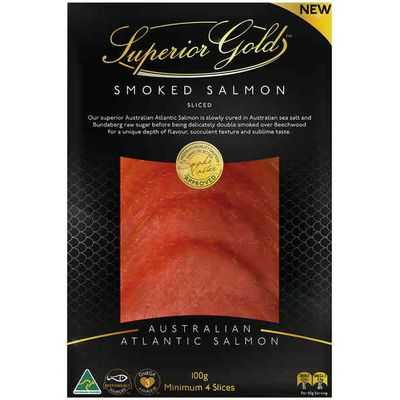 Superior Gold Smoked Salmon